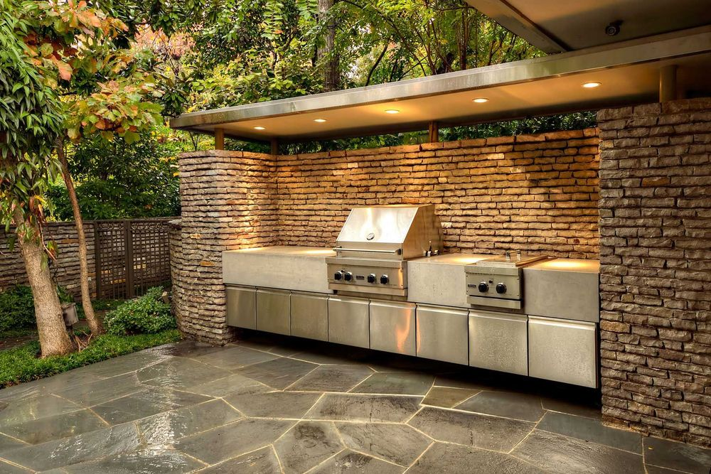Grill Enclosures Outdoor Kitchens USA PAVERS OF TAMPA BAY INC