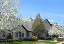 Spring lotus is located in North Kingstown, Rhode Island