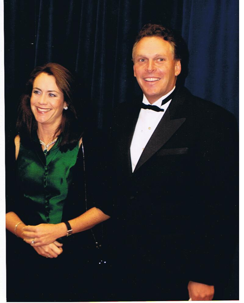 Governor of Virginia Terry McAuliffe at the Kennedy Center Honors