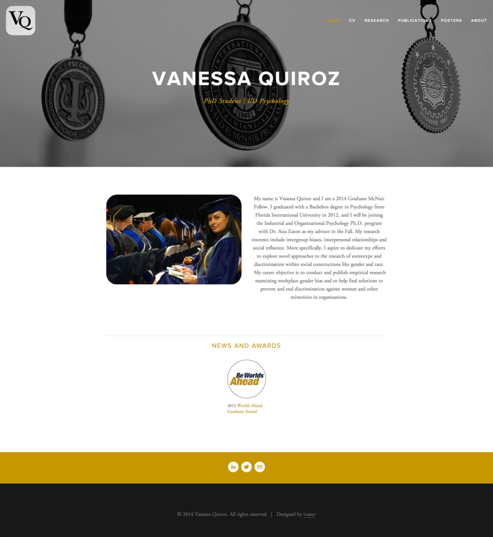 Vanessaquiroz.com