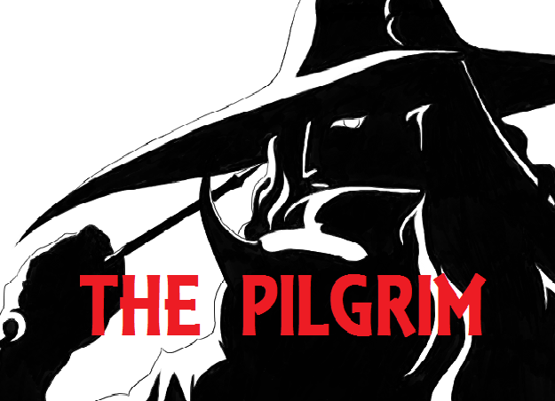 """Yes, that's a stolen silhouette image from """"Vampire Hunter D""""."""