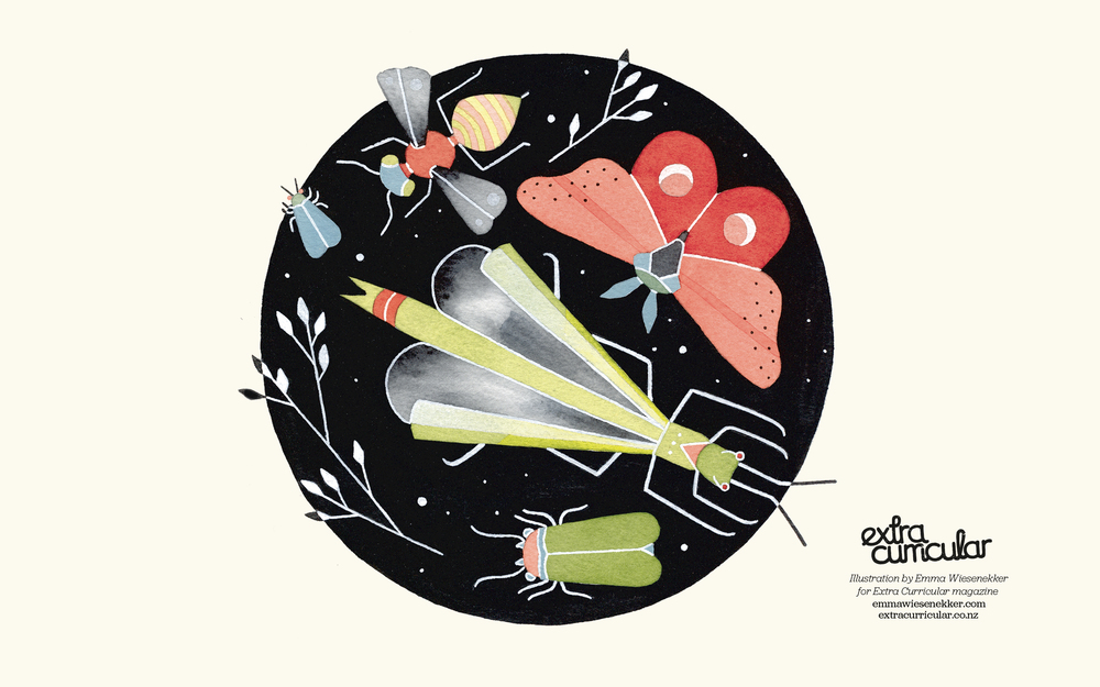 Desktop Wallpaper illustrated by Emma Wiesenekker for the Wild + Free issue