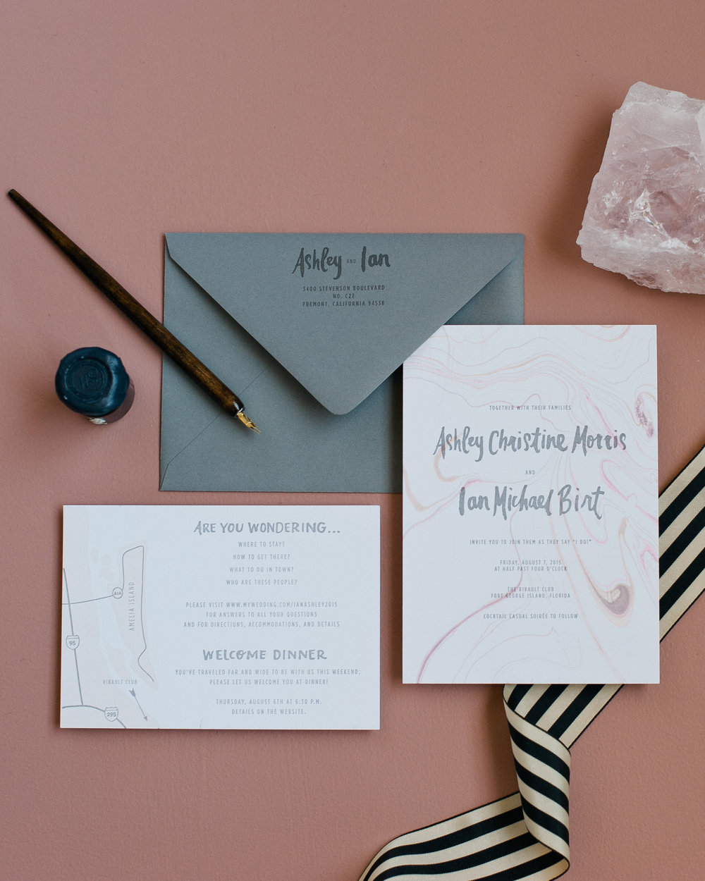 Printerette Press | Custom Letterpress Wedding Invitations | Minneapolis