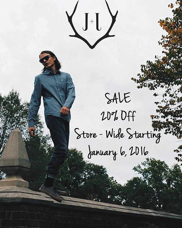 That's right folks. The entire store is on sale starting mañana. #sale #style #fashion #Pittsburgh #lawrenceville