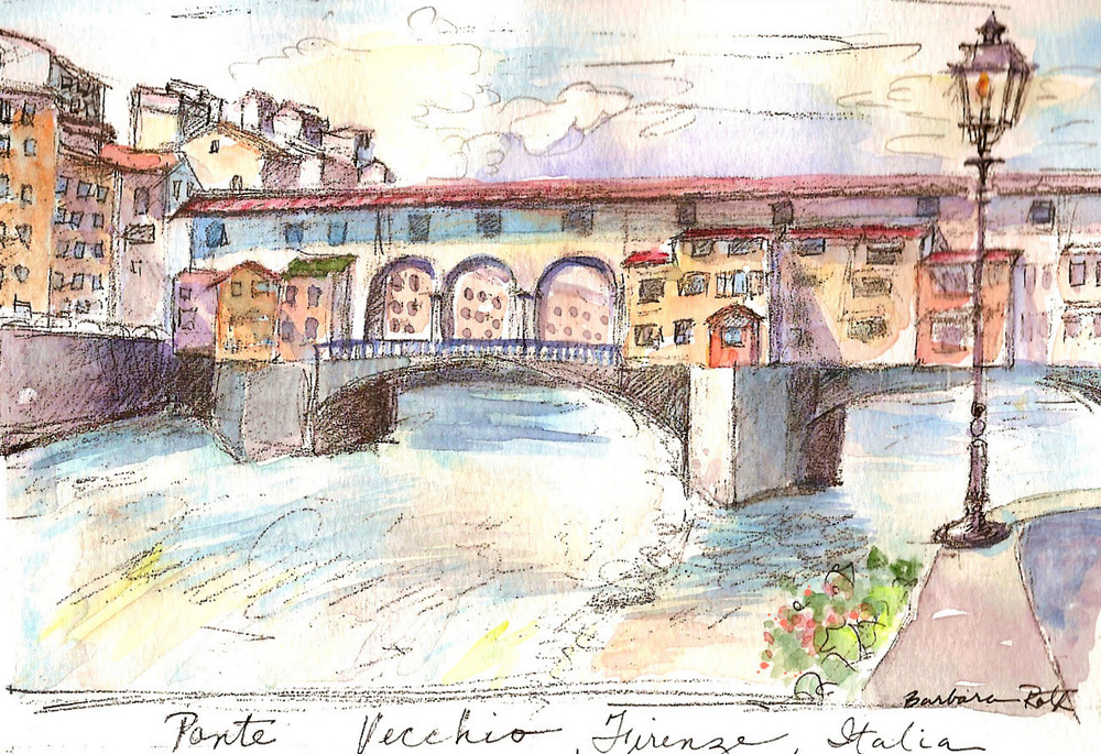 ponte vecchio sketchbook wc 1.jpg