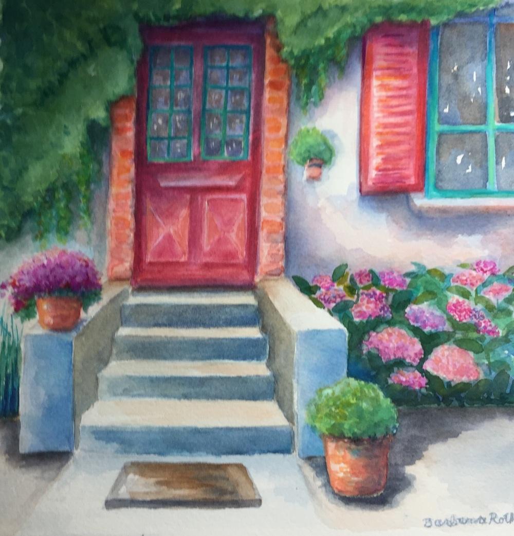 Les Jardins d'Helene Front Entrance