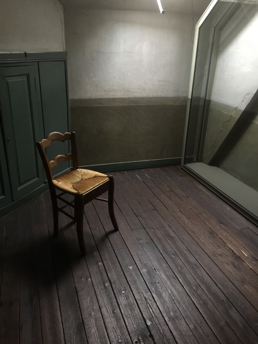 Van Gogh room where he spent the last 70 days of his life.