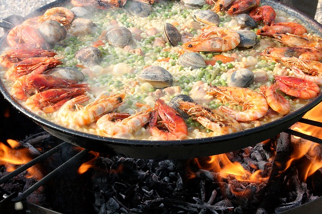 You must try Spanish Paella!