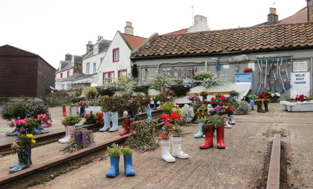 Anywhere Artists stumbled up this Wellie Garden in Ireland