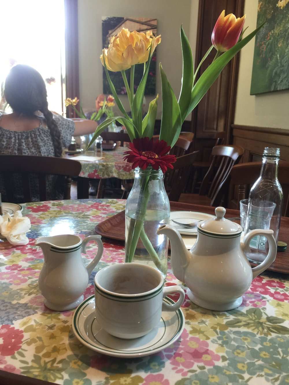 You'll have several opportunities to enjoy afternoon tea at a variety of Tea Shoppes!