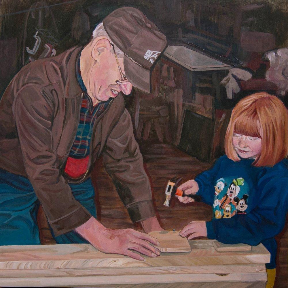 Andrea & Grandpa in the Mill-3.jpg