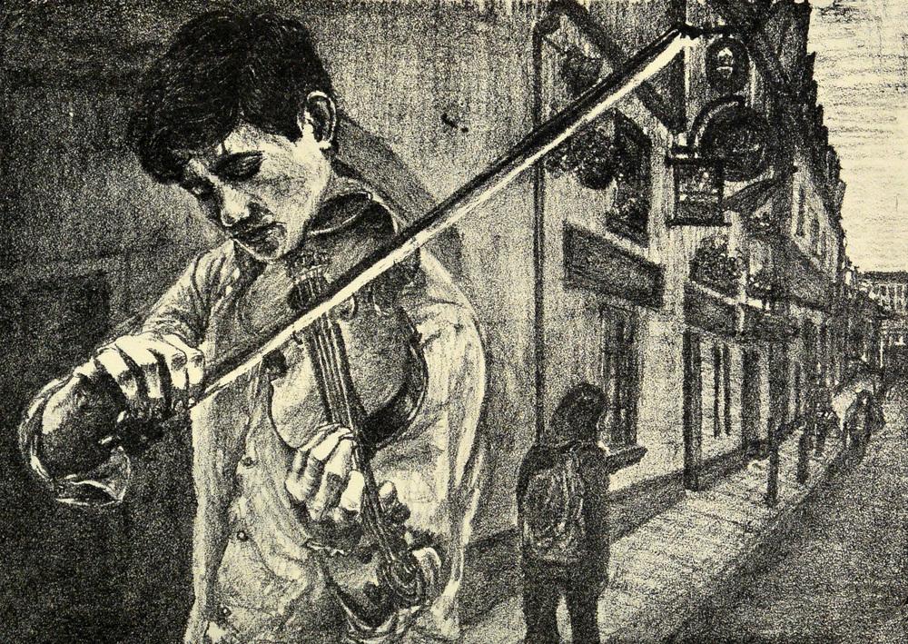 Fiddler on a Galway Corner