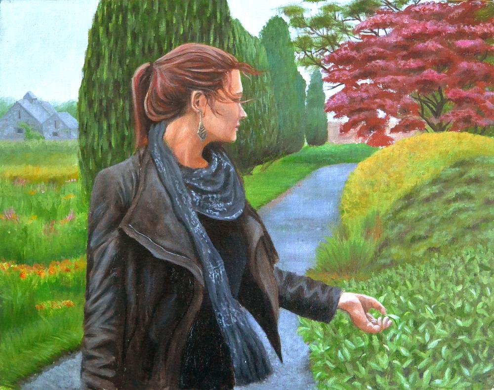 Her Maynooth Garden Walk