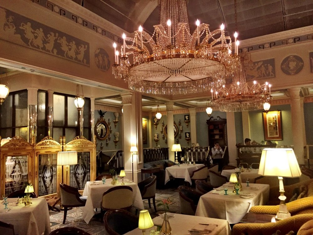 Céleste restaurant - The Lanesborough Hotel, Knightsbridge