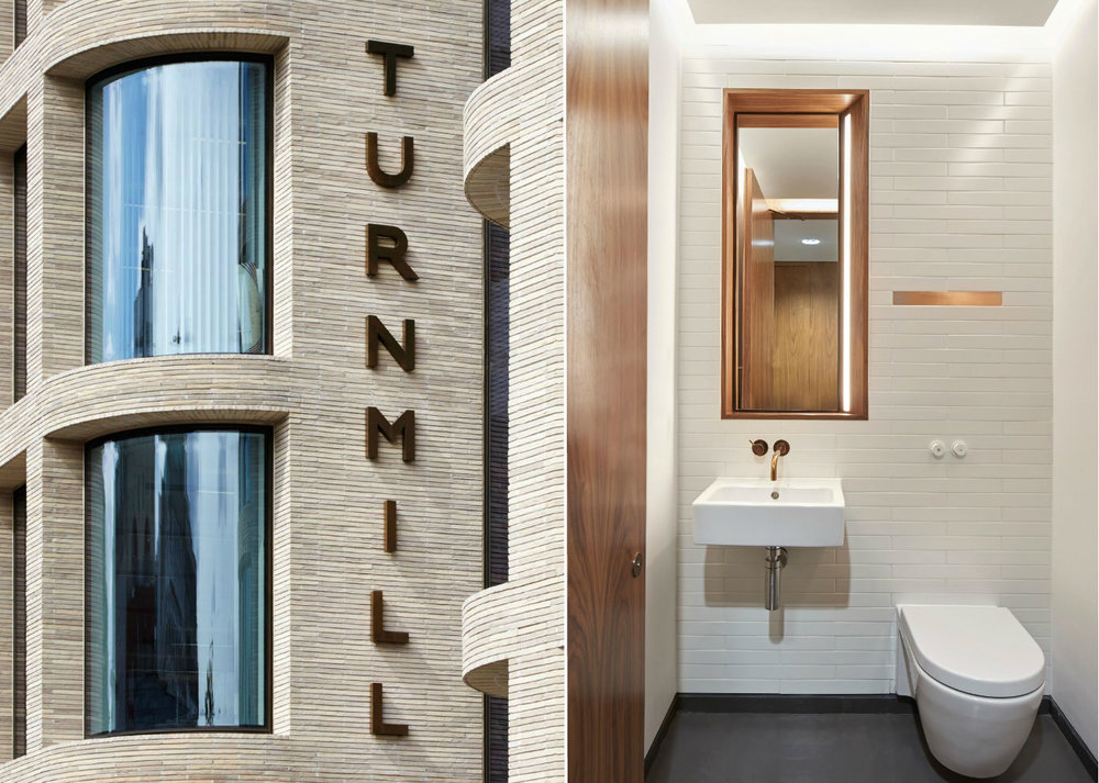 turnmill washrooms - Clerkenwell, London