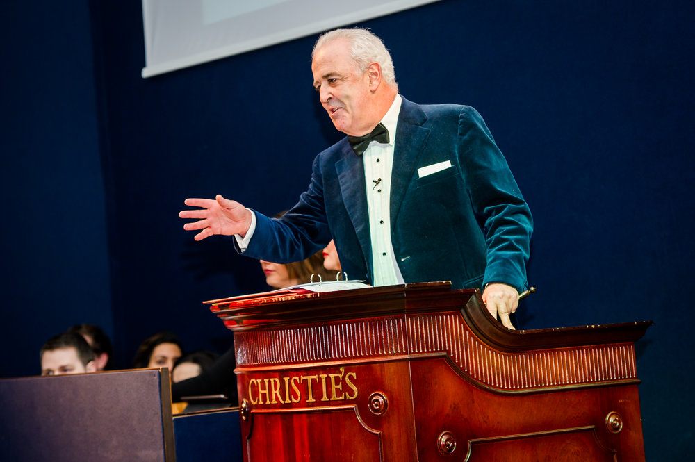 CHRISTIE'S AUCTIONEER ROSTRUMS  - St James', London