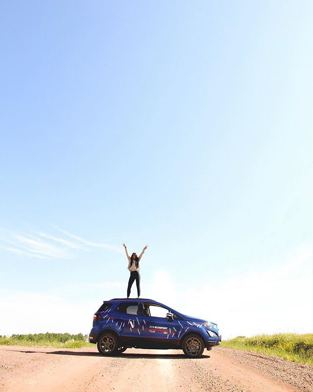 We're having a blast taking over the #FordEcoSport cross-Canada drive!  The trip kicked off a month ago out east in St. John's, Newfoundland and will be going all the way out to Tofino, BC.  I'm covering #ThunderBay to #Winnipeg both today and tomorrow! You can follow along on my IG stories + I've also created a Highlight on my profile that You can view. ⠀⠀⠀⠀⠀⠀⠀⠀⠀⠀⠀⠀⠀⠀ Canada, you sure are amazing 🇨🇦 ⠀⠀⠀⠀⠀⠀⠀⠀⠀⠀⠀⠀⠀⠀ #FordPartner #Ad