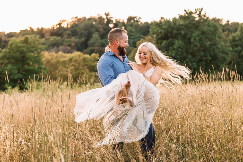 """Incredible"" - My fiancé and I are working with Kristin for our wedding in June of 2019. I could not rave enough about her if I tried. I was very, VERY picky when picking a photographer! Our engagement photos turned out exactly how I wanted and beyond. I had a very specific vision for what I wanted and she captured it so perfectly and did everything we wanted. She was so sweet and made us feel so comfortable. Words cannot even begin to explain how excited I am for her to do our wedding photos in 6 months. You will not be disappointed if you choose Kristin as your photographer I can guarantee it!- Elyse, Fombell PA"