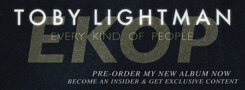 Click to Pre-Order  the new album by Toby Lightman, available soon.