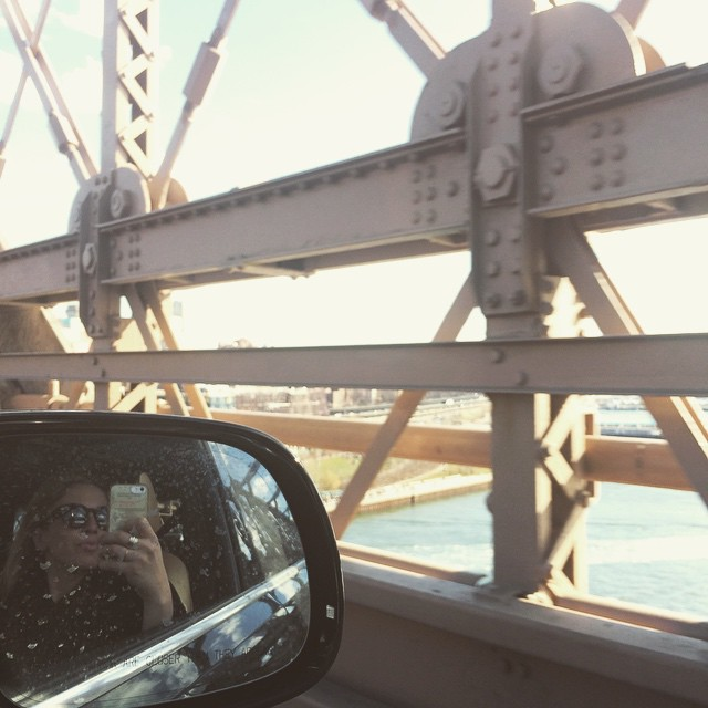 After 15 years on the isle of #Manhattan, we're heading over the #brooklynbridge to get keys to our new place. #crossingover