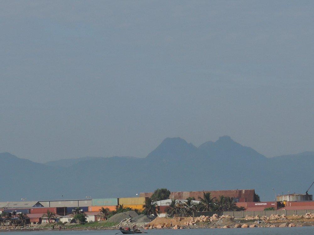 Citadelle view from Cap/Vue de la Citadelle du Cap/Gade nan Citadelle ki soti nan Okap