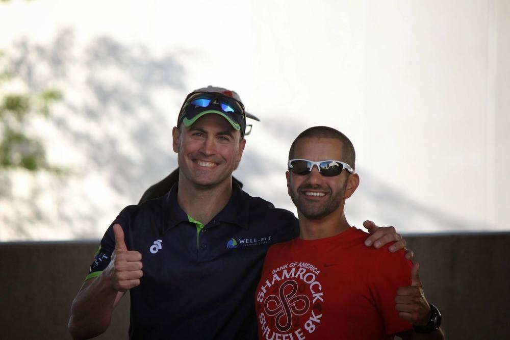 Coach K and Coach Lorenzo IM WI 2014