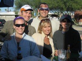 The Baha Bunch IM AZ 2010. Best support crew ever:)