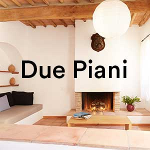 Il palagione for Piani a due piani in mattoni a vista