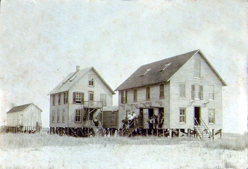 Island House on Cedar Island
