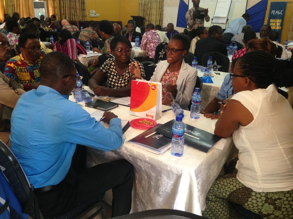 Church leaders from Ghana are being trained and empowered to engage in a nationwide movement of healthy and growing churches!