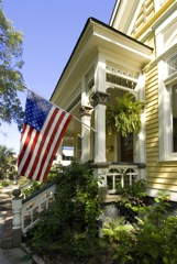 US Flag on home_1883587