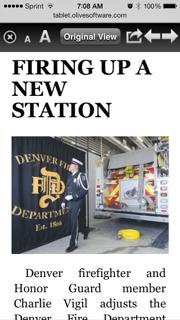 Denver Fire Deptartment