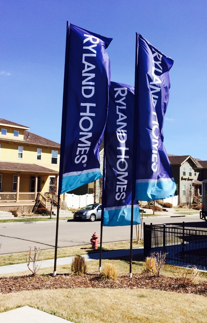 Real estate custom flags