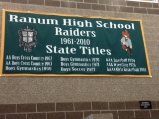 Ranum High School Banner