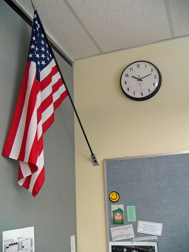 USA Classroom Flag