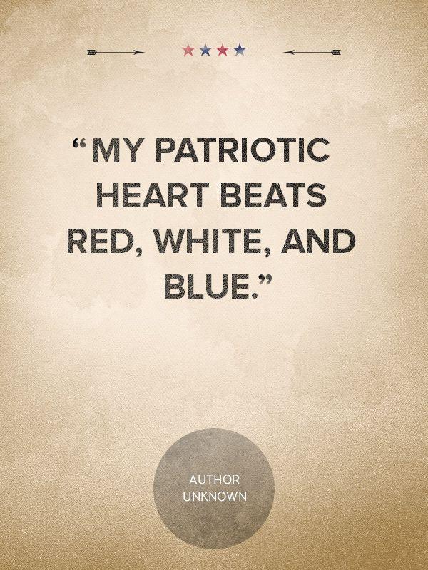 Patriotic Quote