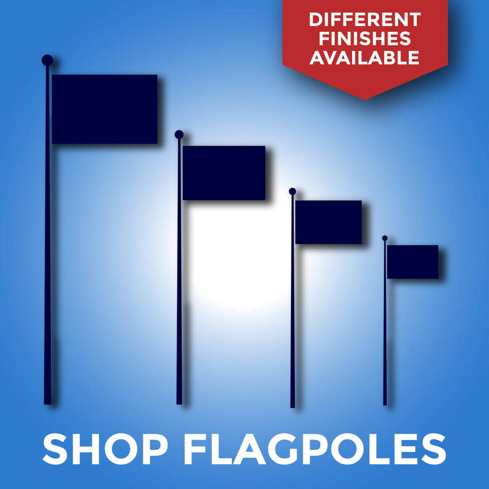 Flagpoles Online for Customized Flags