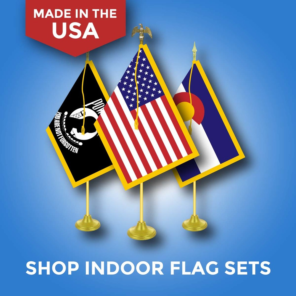 Customized Indoor Flag Sets