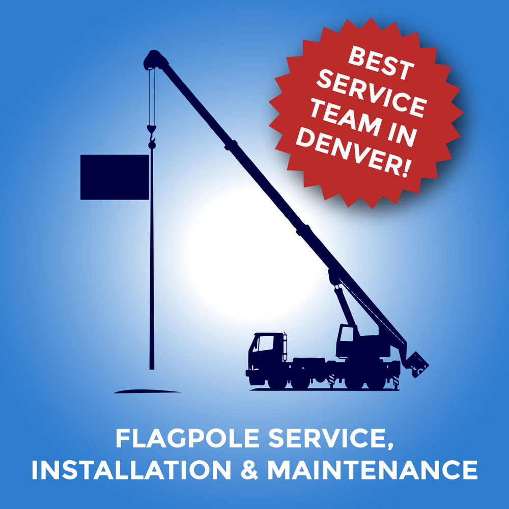 Flagpole Service, Installation & Maintenance