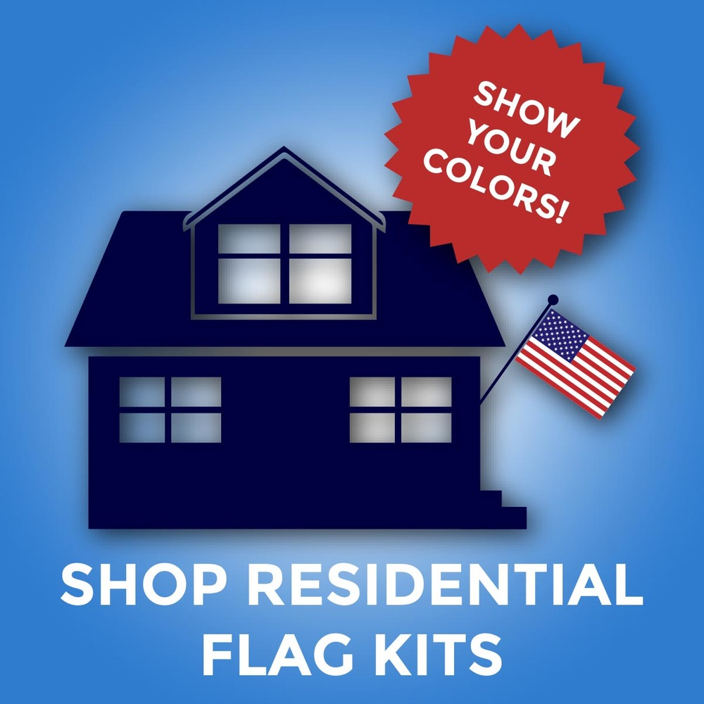 Residential Customized Flag Kits