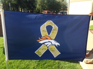 Bronco Veteran Flag 2014.JPG