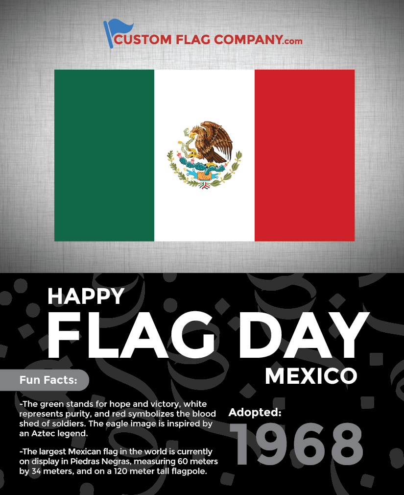 happy flag day mexico u2014 custom flag company