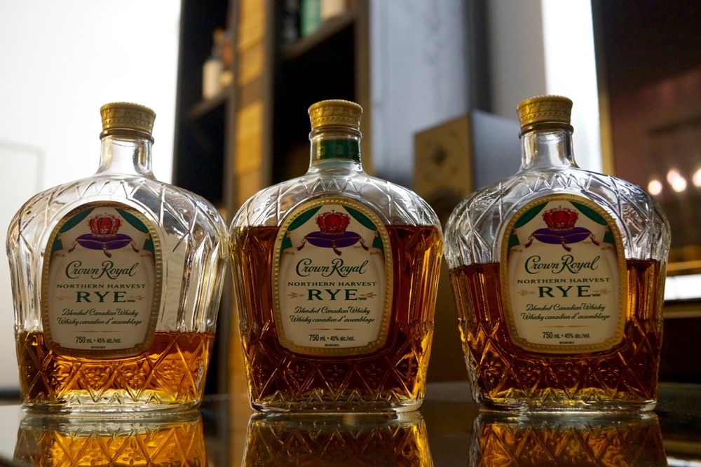 Image result for Canadian Whiskey – Crown Royal Northern Harvest Rye