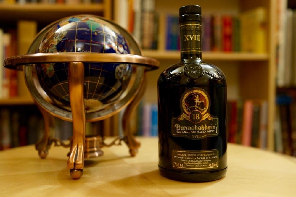 Bunnahabhain 18 Year Old Bunnahabhain Distillery Taste Score: 95.5.  Category: Single Malt Scotch, 18 Year Old Whisky Cabinet Score