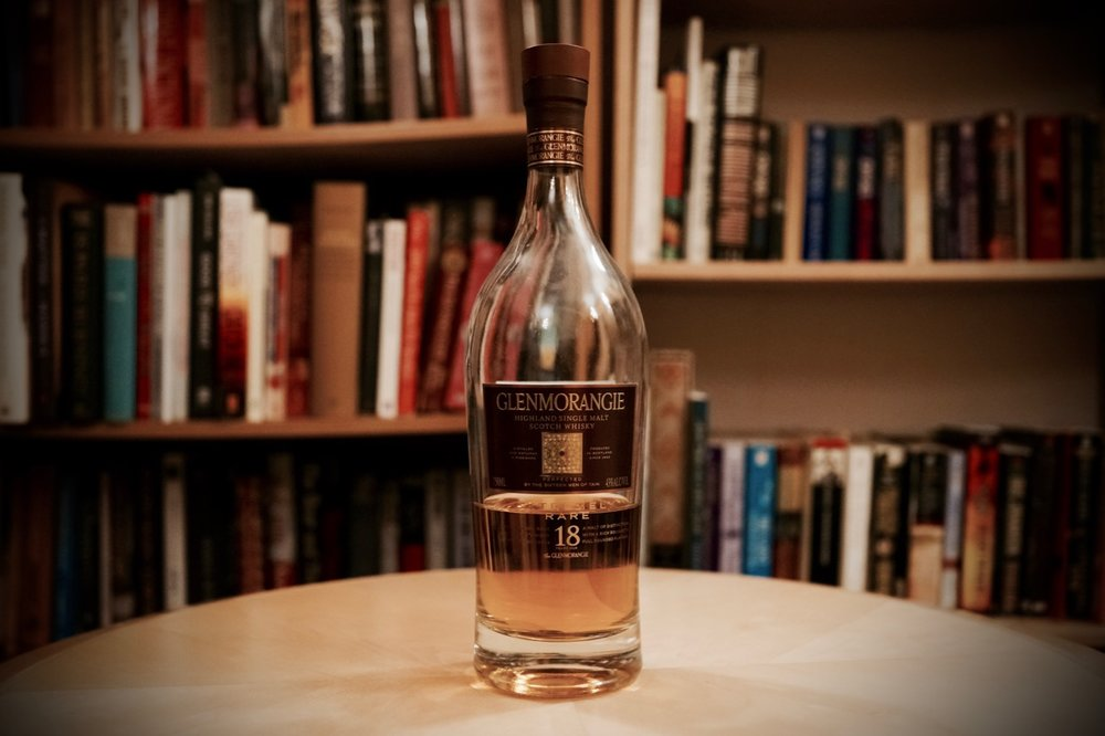Glenmorangie 18 Year Old Glenmorangie Distillery Taste Score: 94. Category:  Single Malt Scotch, 18 Year Old Whisky Cabinet Score