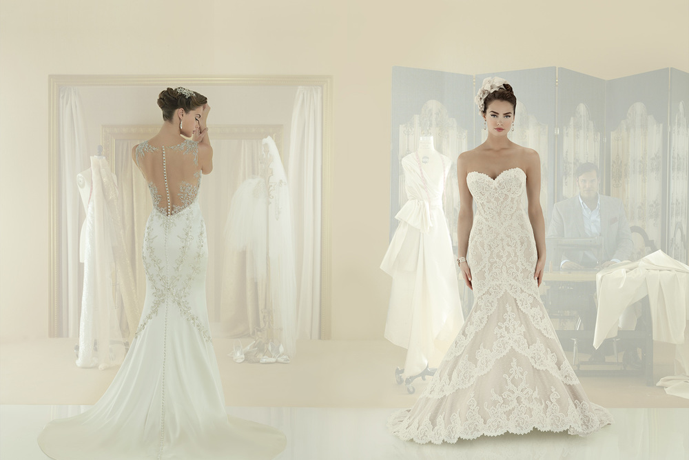 Matthew christopher mon amie bridal salon for Mon amie wedding dresses