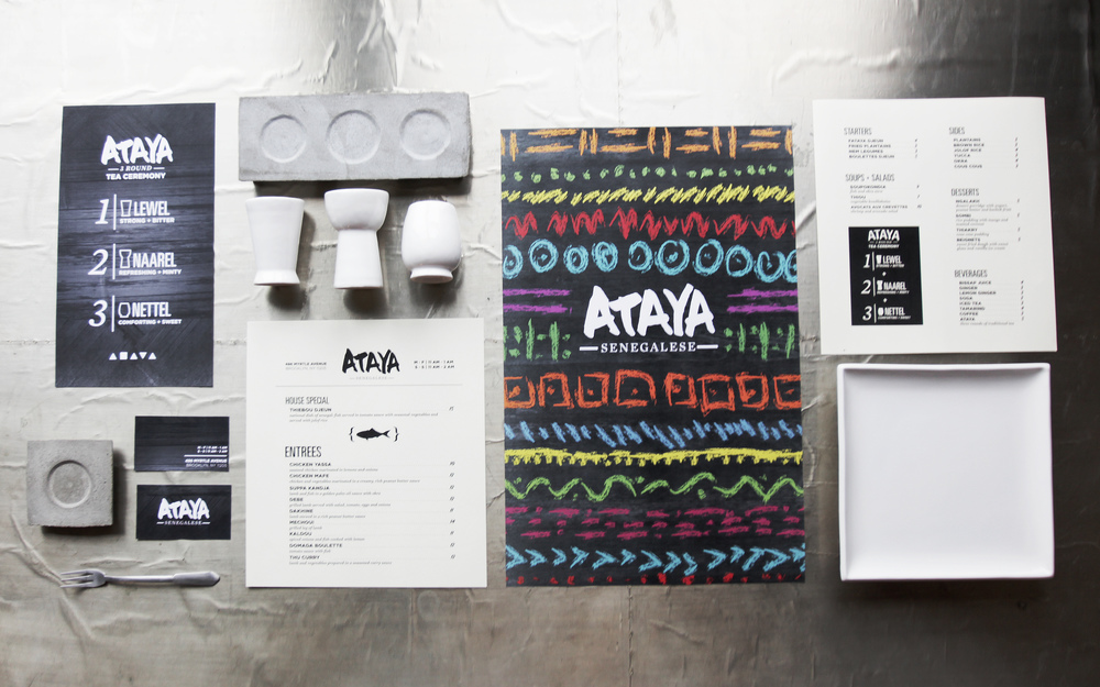 Branding package for Ataya