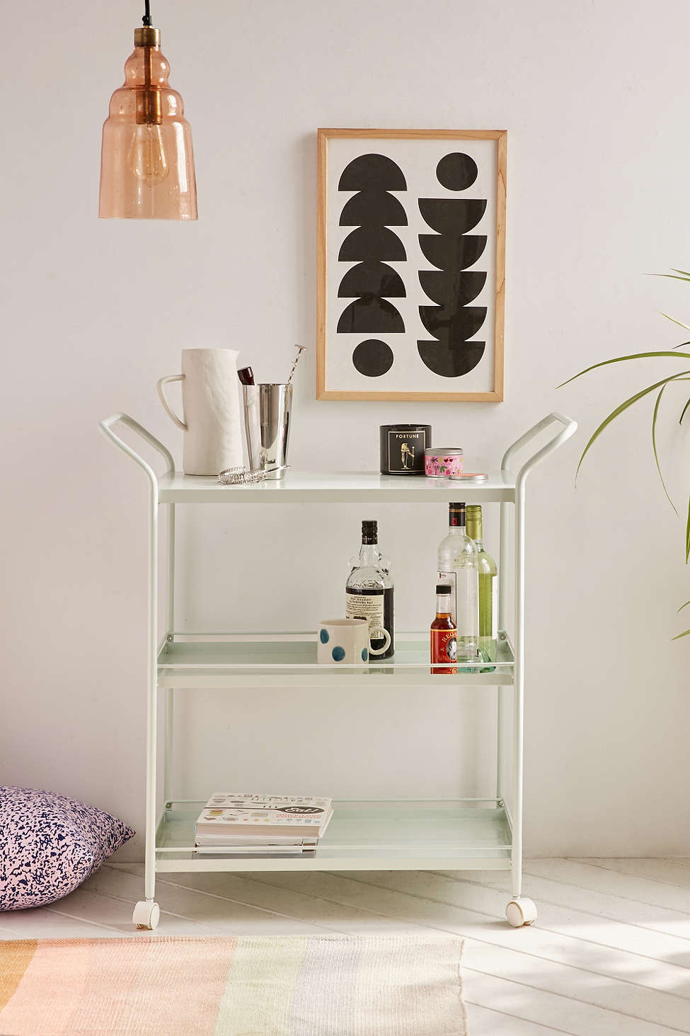"""Collette"" Bar Cart"