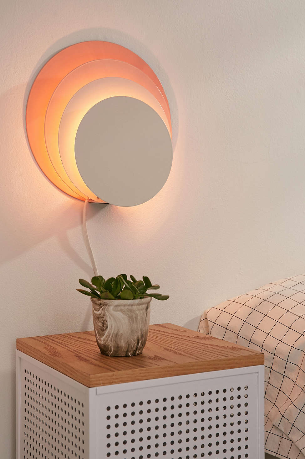 Layered Circle Sconce