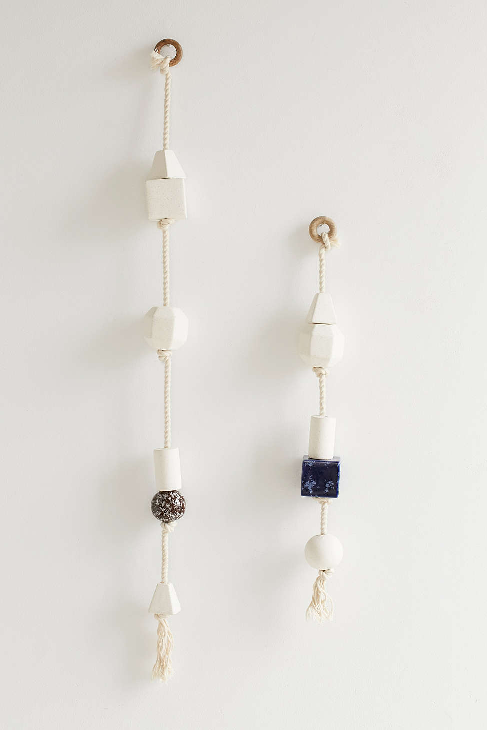Hanging Ceramic Sculptures